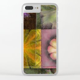 Referenced Tissue Flowers  ID:16165-142303-03261 Clear iPhone Case