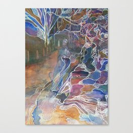 The Weaver Canvas Print