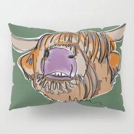 Highland Cow Pillow Sham