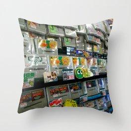 NAMBA, OSAKA Throw Pillow