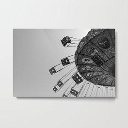 Swing carousel V Metal Print