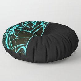 Order And Chaos Floor Pillow