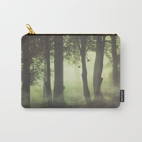 Wispy Forest Mists Carry-All Pouch