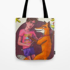 Foxx and I Tote Bag