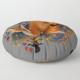 Sly Fox Spirit Animal Floor Pillow