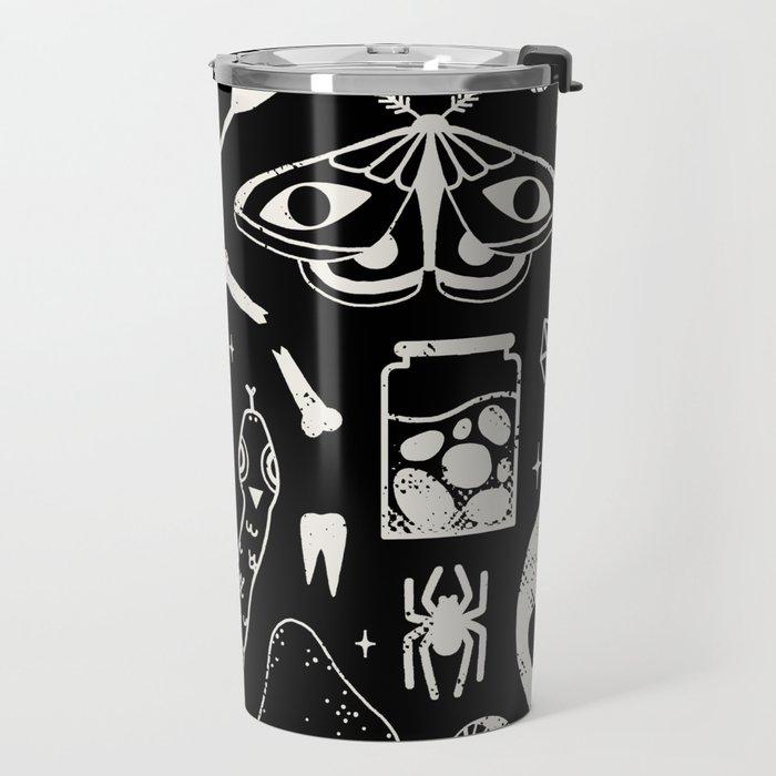 Curiosities: Bone Black Travel Mug