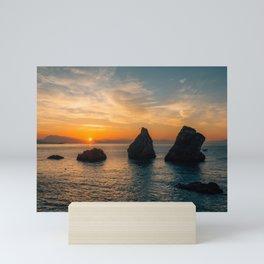 Vietri Sunrise 01 Mini Art Print
