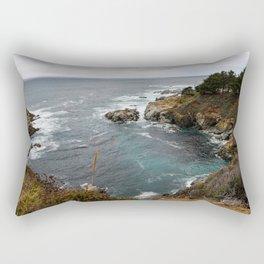 California Coastline Rectangular Pillow