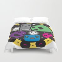 poker Duvet Covers featuring poker by justine