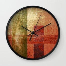 Converge, Abstract Grunge Art Wall Clock