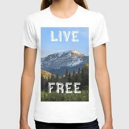 Carefree Mountain Living T-shirt