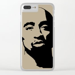 Tupac's Real Dream Clear iPhone Case