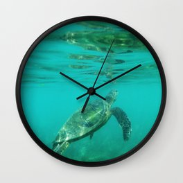 Maui Honu Wall Clock