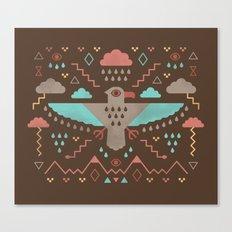 The Legend of Thunderbird Canvas Print