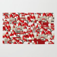 red roofs Rug