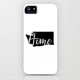 Washington-Home iPhone Case