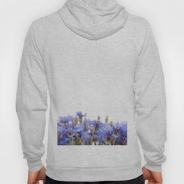 Bunch of blue cornflower flowerheads Hoody