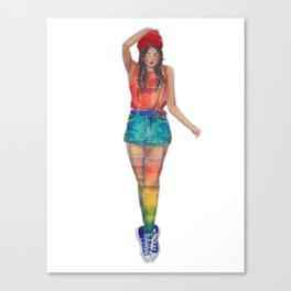 Arna-Baby Canvas Print