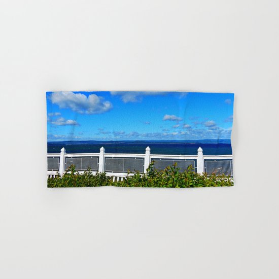 Shoreline Fence Hand & Bath Towel