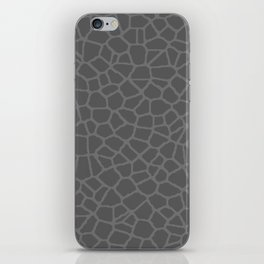 Staklo (Gray on Gray) iPhone Skin
