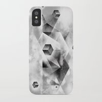 sacred geometry iPhone & iPod Cases featuring Sacred Geometry Four by Richard Seyb
