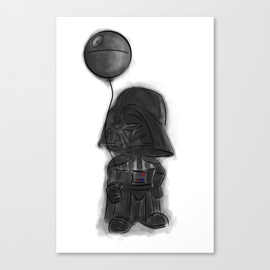 darth vader & death star! Canvas Print