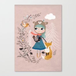 Nature Girl Canvas Print