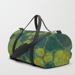 """Art Deco Abstract Crocodile"" Duffle Bag"
