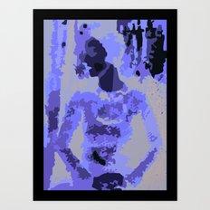 NY Woman Art Print