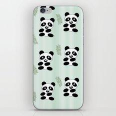 Panda pattern iPhone & iPod Skin