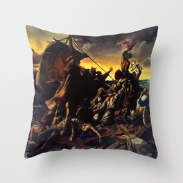 A Tragic Comedy Throw Pillow