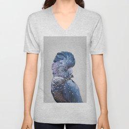 Black Cockatoo Unisex V-Neck