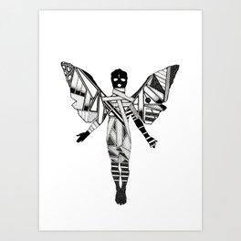 TRAUMA Art Print