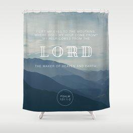 MY HELP Shower Curtain