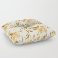 Magnolia Pattern Floor Pillow