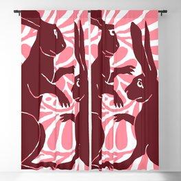 "William De Morgan ""Boxing Hares"" 1. Blackout Curtain"