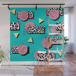 Gridline Wall Mural
