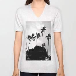 Honolulu Harbor T-Shirt Unisex V-Neck