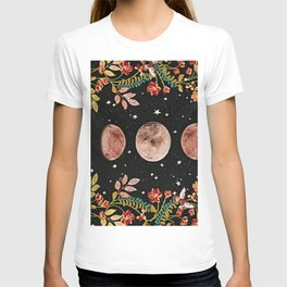 lovely moon cylcle T-shirt