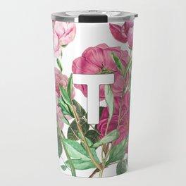 BTS Flowers Travel Mug