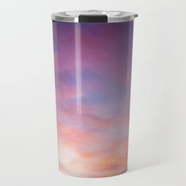 Pink Sunset Travel Mug