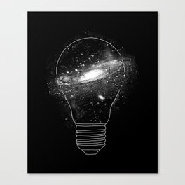 Sparkle - Unlimited Ideas Canvas Print