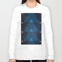 greece Long Sleeve T-shirts featuring Greece Arrow Hues by Diego Tirigall