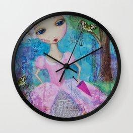 Oh Marie! Wall Clock