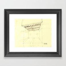 Palazzo Farnese, Rome Framed Art Print