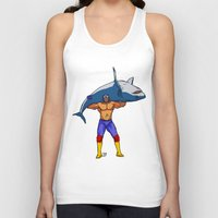 fishing Tank Tops featuring Fishing by PCRK