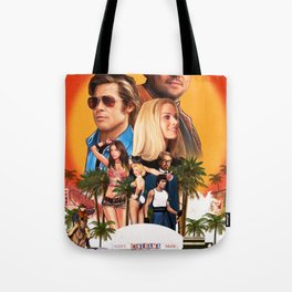Once Upon a Time in Hollywood Tote Bag