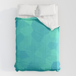 Hues of Blue Comforters