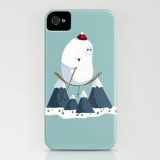 No slope, no hope iPhone (4, 4s) Slim Case
