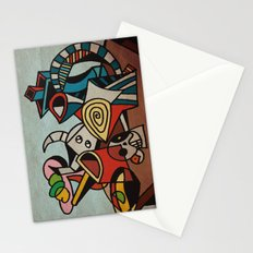 Still Life in Cubism Stationery Cards